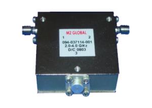 Octave & Wide Bandwidth Coaxial Isolators