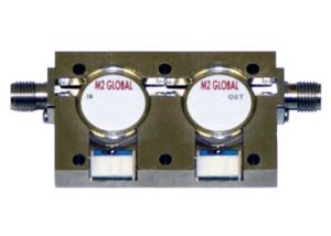 Dual Junction Coaxial Isolators